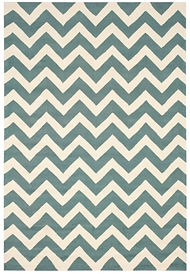 Breakwater Bay Oaknoll Light Green Indoor/Outdoor Area Rug; 5' x 7'6''