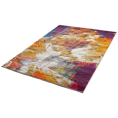 Bloomsbury Market Felicienne Modern Abstract Area Rug; 7'10'' x 10'6''