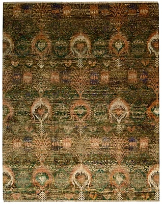 Bloomsbury Market Pinos Traditional Hand knotted Area Rug; Rectangle 9'9'' x 13'9''