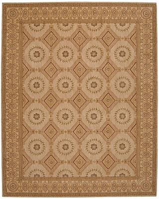 Astoria Grand Bryn Oriental Beige Area Rug; Rectangle 3'6'' x 5'6''