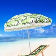 Bayou Breeze Fedna Fiberglass Portable 6.5' Beach Umbrella