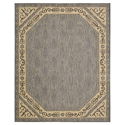 Astoria Grand Bryn Silver Area Rug; Rectangle 5'3'' x 8'3''