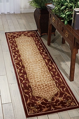 Astoria Grand Caldanagh Red Area Rug; Runner 2'3'' x 8'