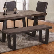 Brayden Studio Odegaard Wood Bench