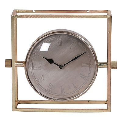 Canora Grey Eclectic Tabletop Clock