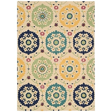 Charlton Home Aberdeenshire Hand-Tufted Ivory Area Rug; 5'3'' x 7'5''