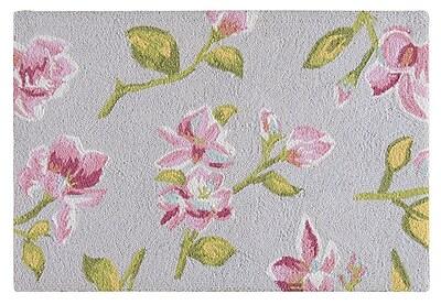 Charlton Home Armitage Wool Pink Area Rug