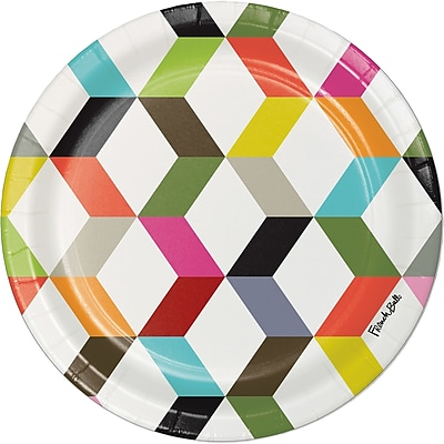 Creative Converting Ziggy Paper Dessert Plate (Set of 10)