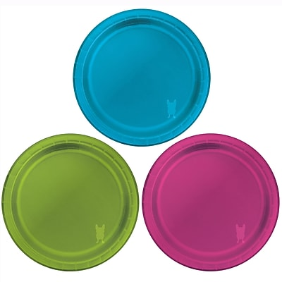 Creative Converting Foil Paper Dessert Plate (Set of 10)
