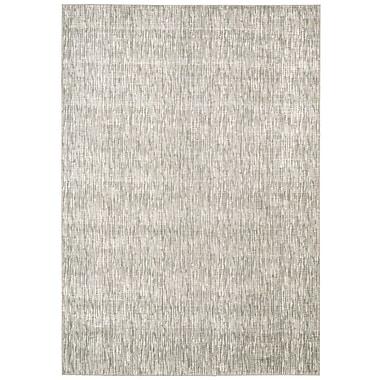 Corrigan Studio Coby Gray Wool Area Rug; Rectangle 7'6'' x 10'6''