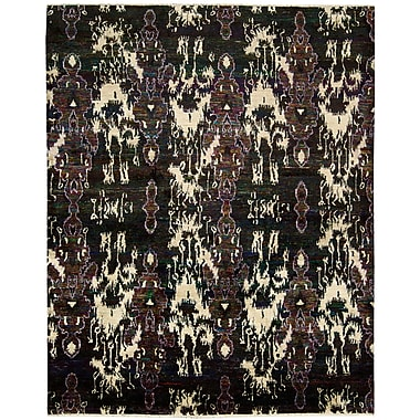 Bloomsbury Market Pinos Modern Hand knotted Area Rug; 7'9'' x 9'9''