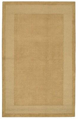 Ebern Designs Aspasia Hand-Tufted Sand Area Rug; 5' x 8'