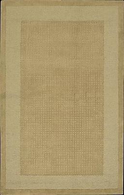 Ebern Designs Aspasia Hand-Tufted Sand Area Rug; 2'6'' x 4'