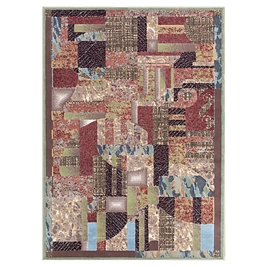 Ebern Designs Athanas Beige Area Rug; Rectangle 3'11'' x 5'3''
