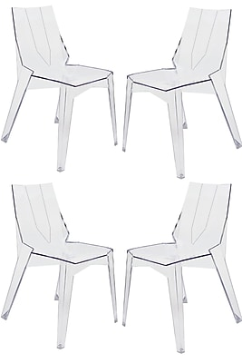 Everly Quinn Chavtika Patio Dining Chair (Set of 4)