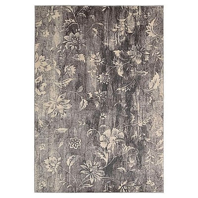 Ophelia & Co. Tien Ivory/Slate Area Rug; 7'9'' x 10'10''