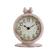 Ophelia & Co. Madi Pewter Wall Clock