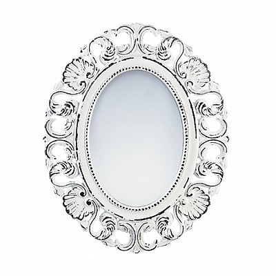 Ophelia & Co. Physter Distressed Scallop Wall Mirror