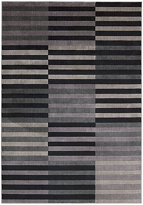 Orren Ellis Kaiti Black/Gray Area Rug; 9'6'' x 13'
