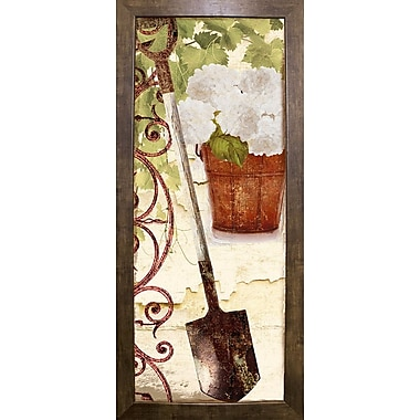 August Grove 'Vermont Summer VIII' Graphic Art Print; Cafe Mocha Framed