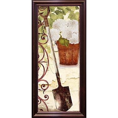 August Grove 'Vermont Summer VIII' Graphic Art Print; Cherry Grande Framed