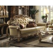 Astoria Grand Mccarroll Wood Frame Sofa w/ 4 Pillow