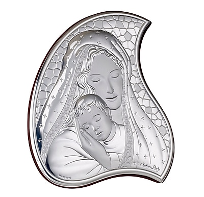 Astoria Grand Mcconville Madonna and Child Icon Decorative Plaque