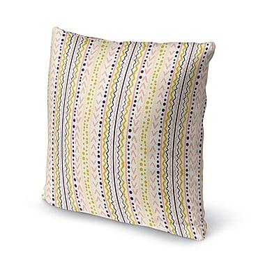 Bungalow Rose East Milton Throw Pillow; 18'' x 18''