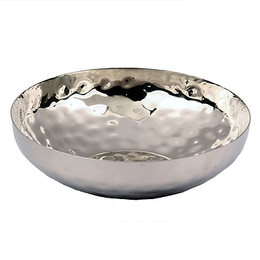 Alcott Hill Clevenger Hammered Fruit Bowl