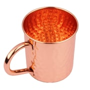 Alcott Hill Clowers Hammered Moscow Mule 16oz. 100pct Copper Mug