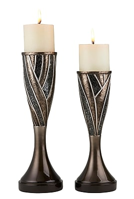 Astoria Grand Traditional 2 Piece Candlestick Set