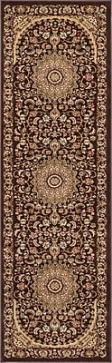 Astoria Grand Colindale Traditional French Country Oriental Persian Brown Area Rug