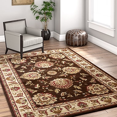 Astoria Grand Colindale Traditional Soft Oriental Brown Area Rug; 2'3'' x 3'11''