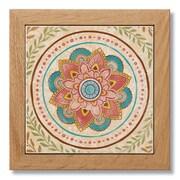 Bungalow Rose Framed Printed Coaster