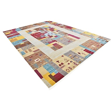 Bloomsbury Market Rolling Hills Estates Yellow/Red/Brown Southwestern Area Rug; Rectangle 10' x 13'