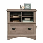 Bay Isle Home Bellingham 1 Drawer Lateral Filing Cabinet; Salt Oak