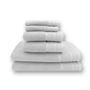 Brayden Studio Concourse 6 Piece Towel Set; Optic White