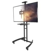 Kanto MTM55PL-S Mobile TV Cart with Adjustable Steel Tray for 32-inch to 55-inch TVs