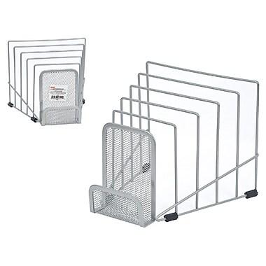 Staples® - Range-tout en cascades, mailles métalliques, argenté (HON11971-CA)