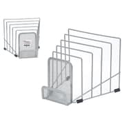 Staples® Mesh File Step Sorter, Silver (HON11971-CA)