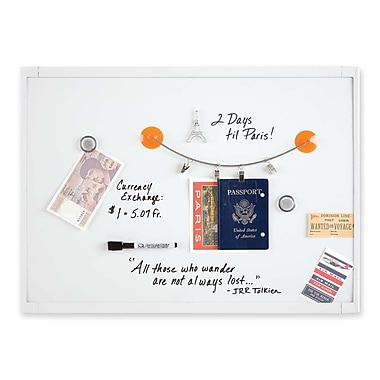 Dry-Erase Board, Mini Magnetic, 17