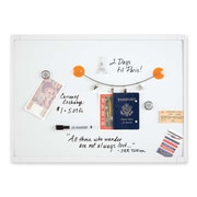 "Dry-Erase Board, Mini Magnetic, 17"" x 23"", White"