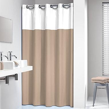 Corrigan Studio Travon Shower Curtain; Beige