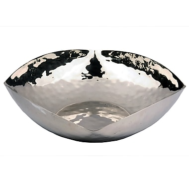 Darby Home Co Jonquil Hammered Salad Bowl