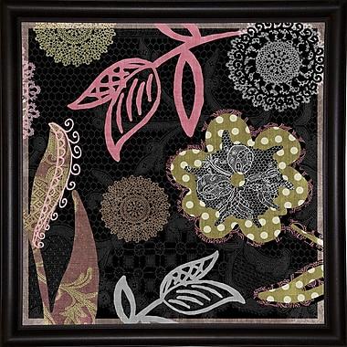 East Urban Home 'Daisy Cartwheels II' Graphic Art Print; Canvas