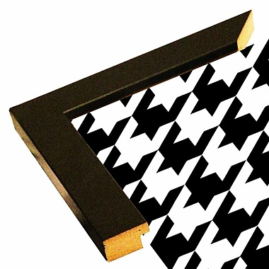 East Urban Home 'Houndstooth II' Graphic Art Print; Paper