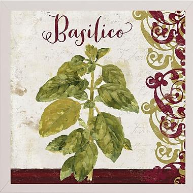 Fleur De Lis Living 'Cucina Italiana VI' Graphic Art Print; White Medium Framed