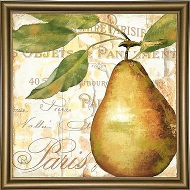 Fleur De Lis Living 'Cafe d'Or VI' Graphic Art Print; Bistro Gold Framed