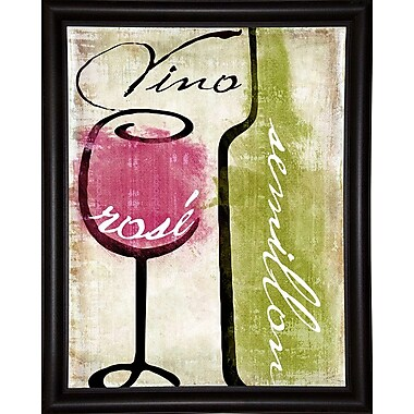 Fleur De Lis Living 'Wine Tasting IV' Graphic Art Print; Wrapped Canvas