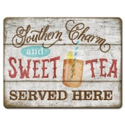 HighlandHome Sweet Tea Glass Cutting Board